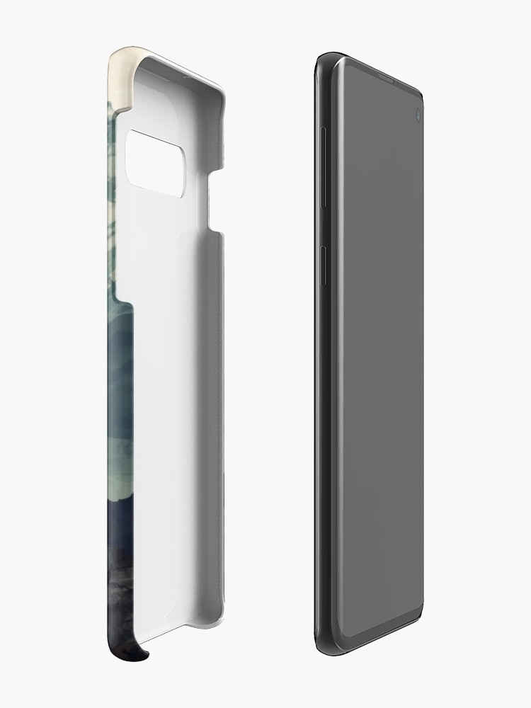 Alternate view of Mountain Fog Case & Skin for Samsung Galaxy