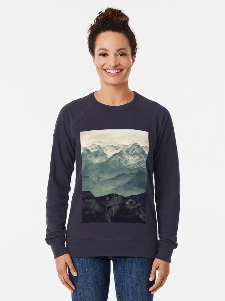 Alternate view of Mountain Fog Lightweight Sweatshirt