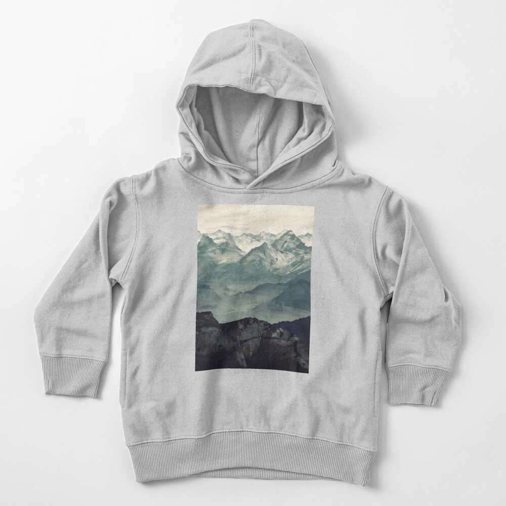 Mountain Fog Toddler Pullover Hoodie