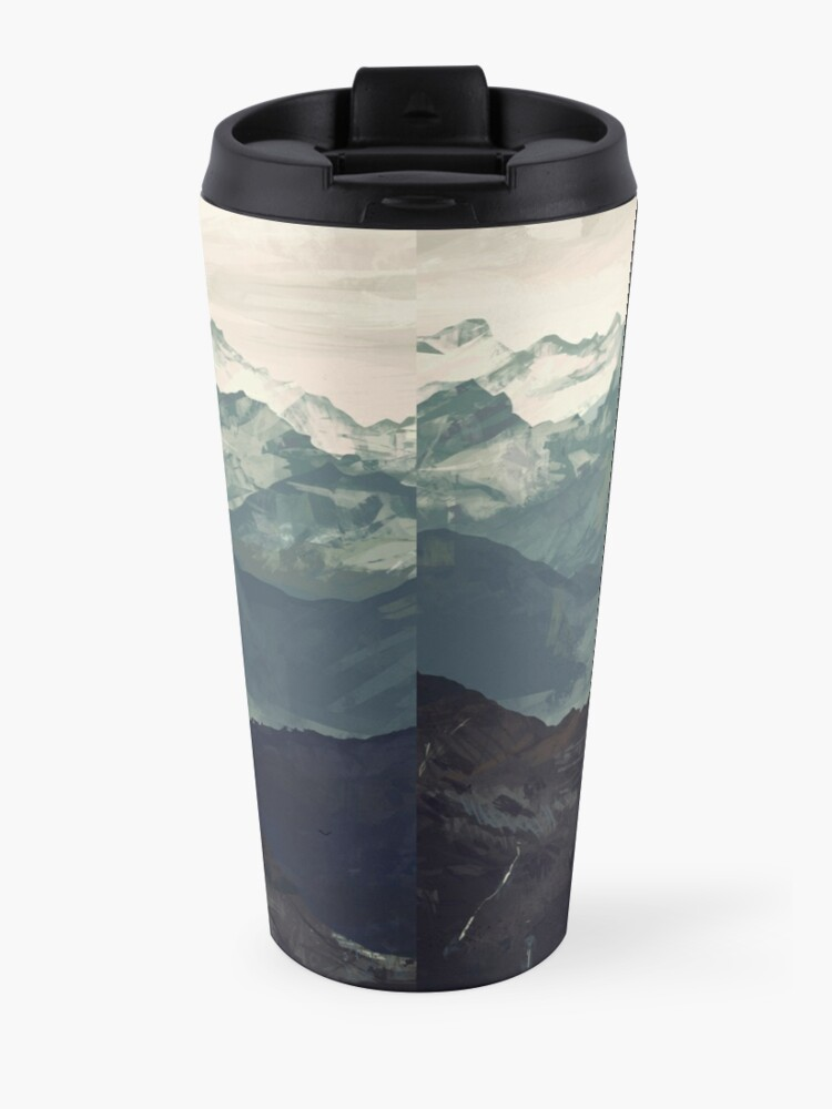 Alternate view of Mountain Fog Travel Mug