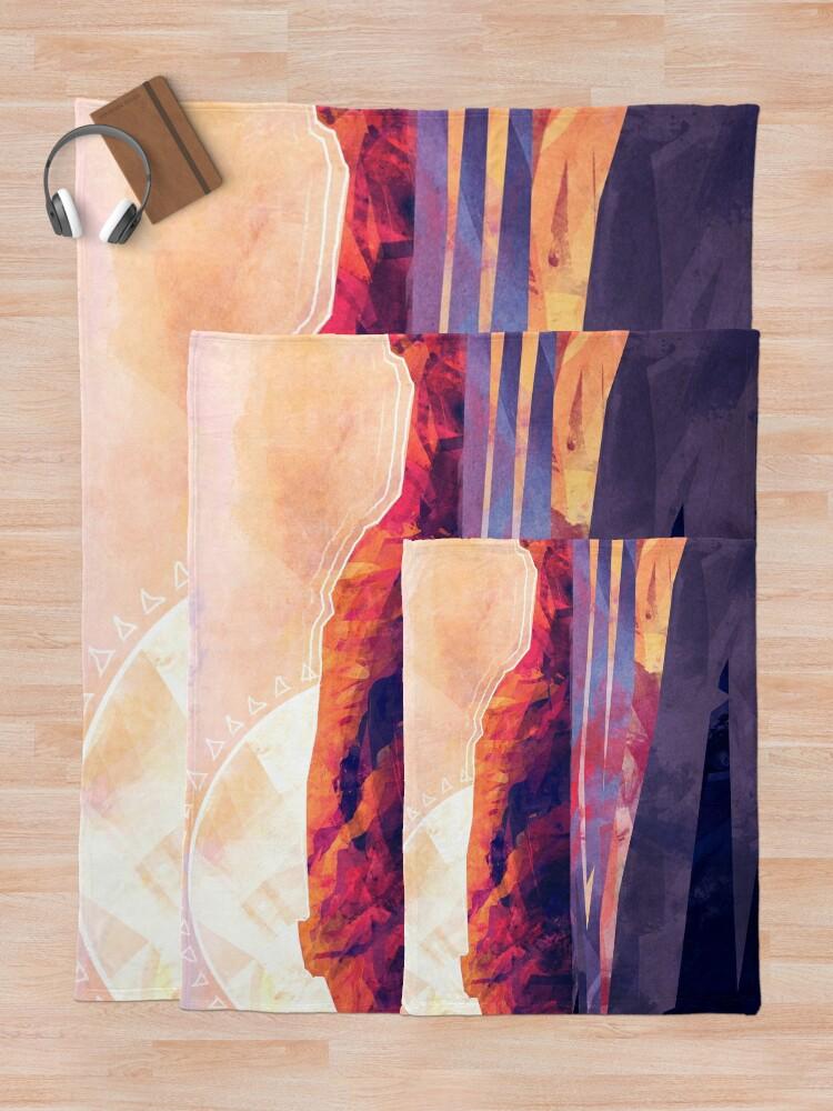 Alternate view of Table Mountain Throw Blanket