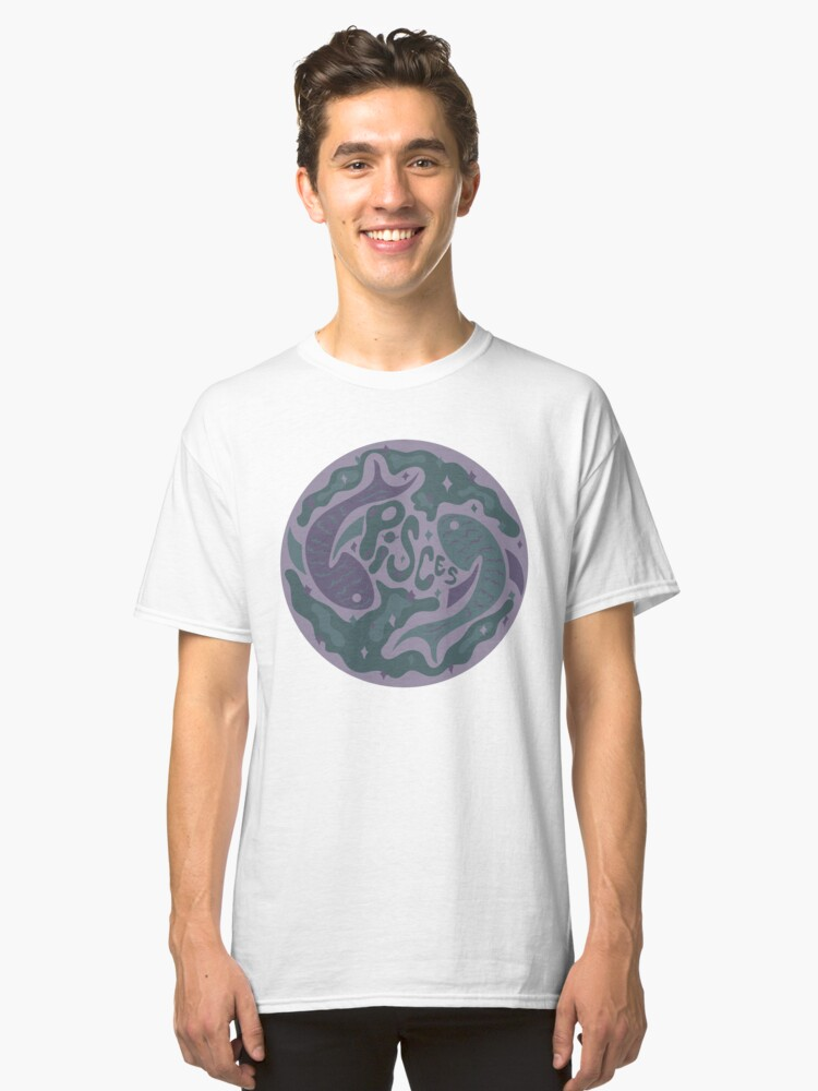 Alternate view of Pisces Classic T-Shirt