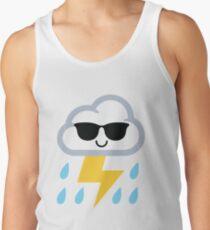 Thunderstorm Emoji  Men's Tank Top
