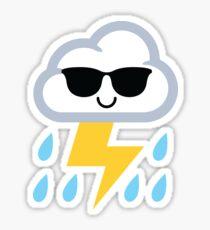 Thunderstorm Emoji  Sticker