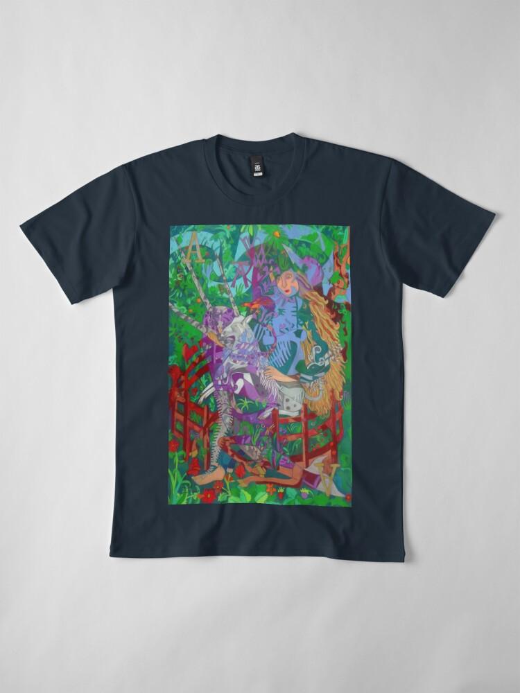 Alternate view of Archeology of the Unicorn Premium T-Shirt