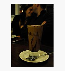 love ~ coffee Photographic Print