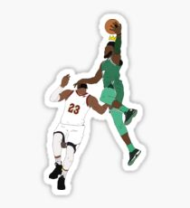 The New King Of The NBA Sticker