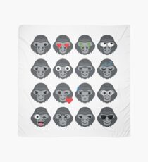 Gorilla Emoji Tuch