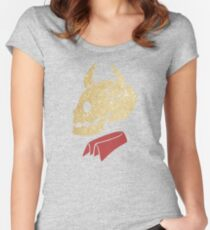 Buffy the Vampire Slayer's Glittery Devil Shirt Women's Fitted Scoop T-Shirt