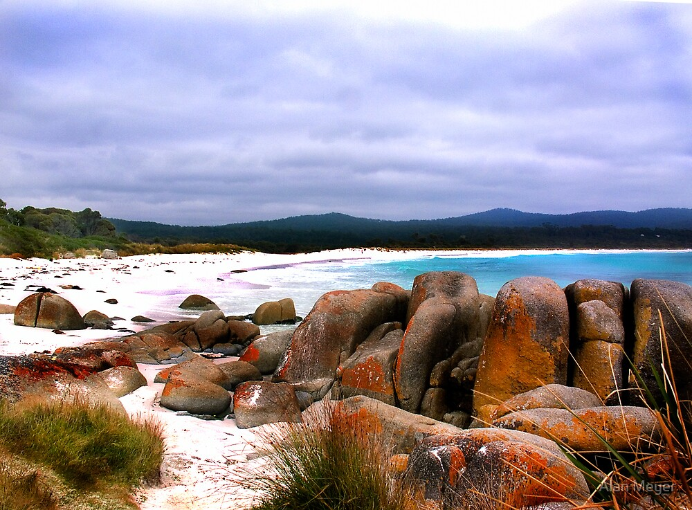 Bay of Fires, Tasmania by Alan Meyer