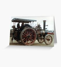 EWB Traction Engine Greeting Card