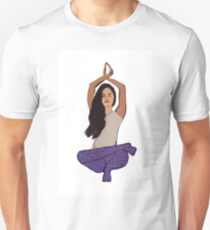 Yoga Lady, Yoga posture T-Shirt
