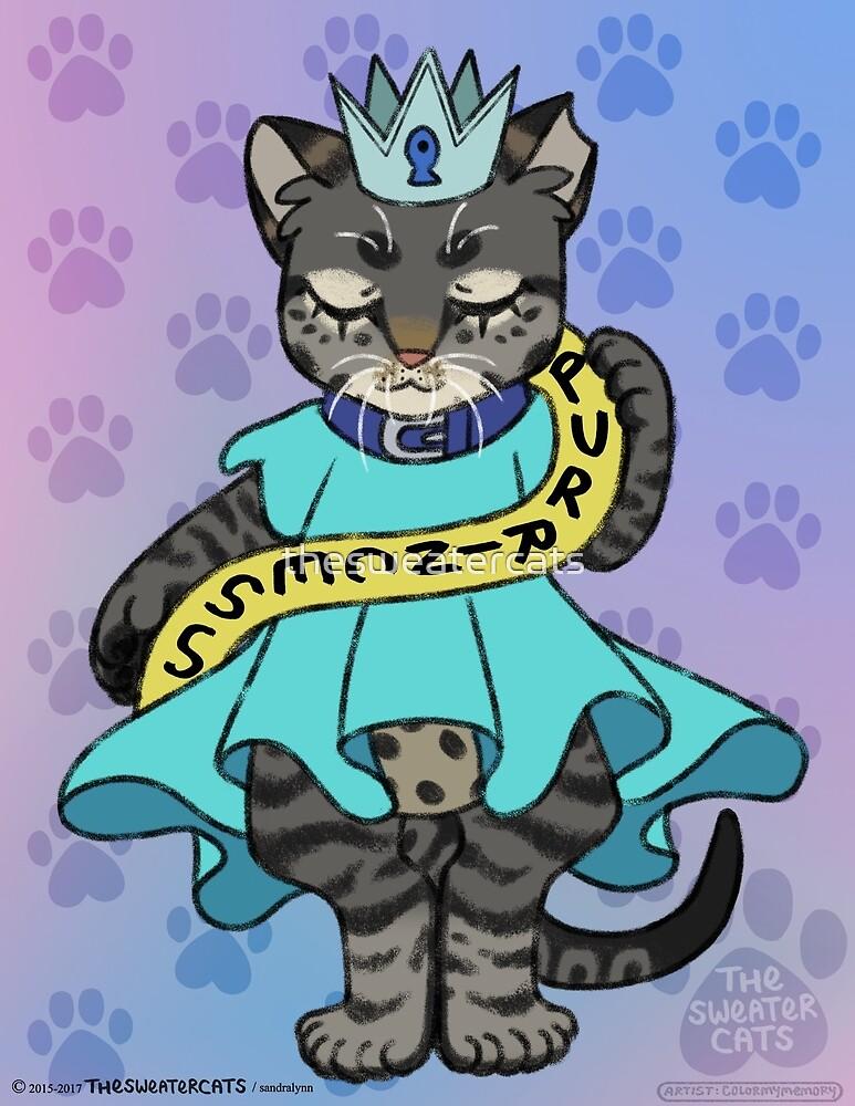 thesweatercats - Purrincess Luna by thesweatercats