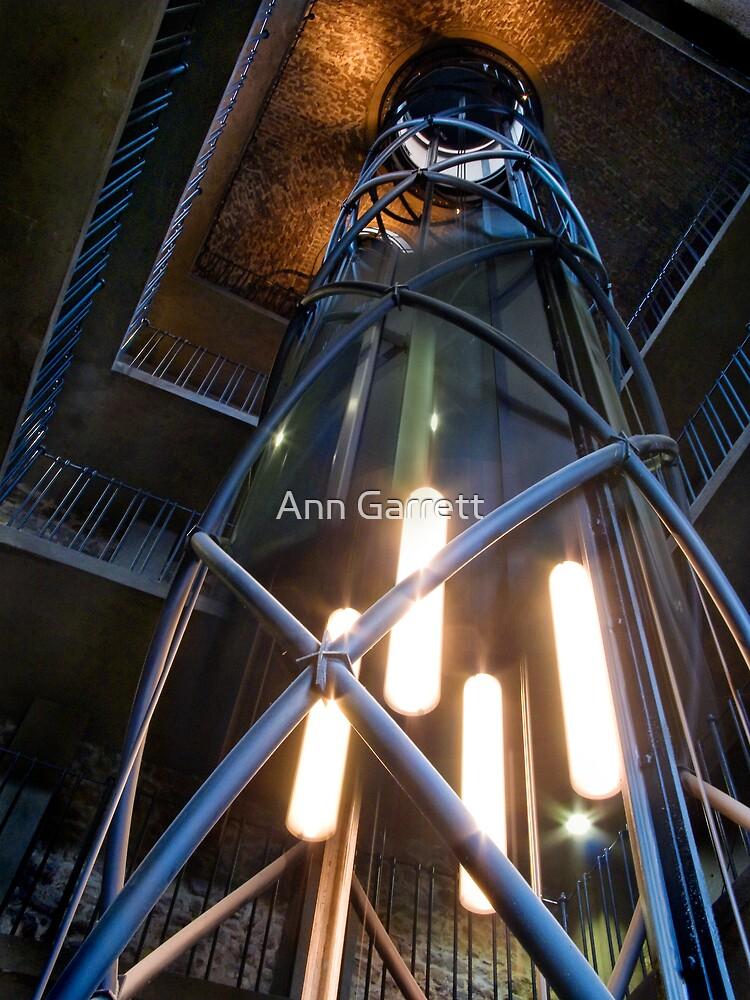 Clock Tower - 3 by Ann Garrett
