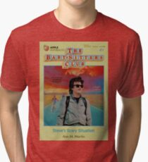 steve harrington the babysitter - stranger things  Tri-blend T-Shirt