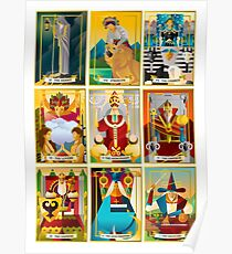 tarot major arcana cards Poster