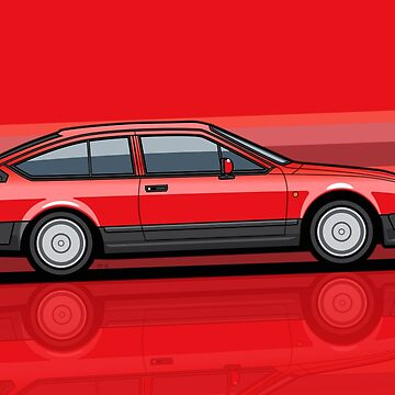Alfa Romeo GTV6 Red Stripes by monkeycom