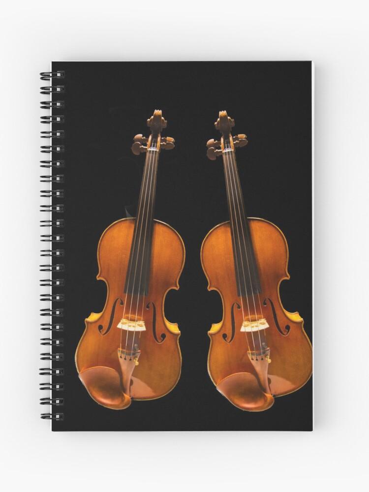 Violin Stradivarius twin | Cuaderno de espiral