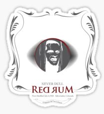 Never Dull - Torrance Brand Red Rum Sticker