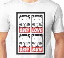 Obey Love Obey Bun Unisex T-Shirt