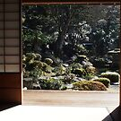 Japan - Glimpse of garden by fab2can