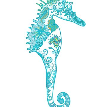 Seahorse Mandala de Manitarka