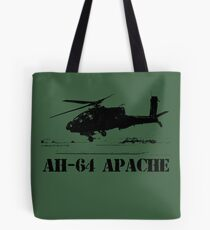 AH64 Apache helicopter Tote Bag