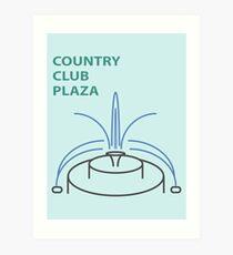 Kansas City Country Club Plaza  Art Print