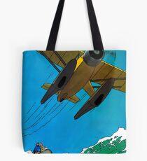 Tintin Poster Tote Bag