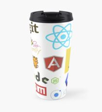 Javascript Stickers, Mugs, T-shirts and Phone cases Travel Mug