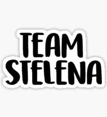 team stelena sticker Sticker