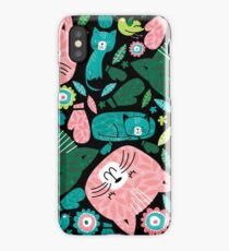 kittens in mittens iPhone Case