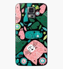 kittens in mittens Case/Skin for Samsung Galaxy
