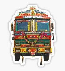 Indian Truck Art sticker Sticker