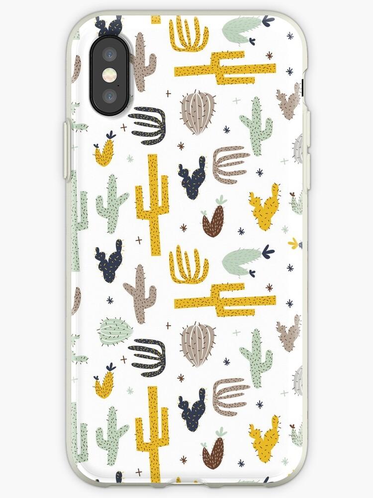 Kaktus - Senf Marine von Laura Wright