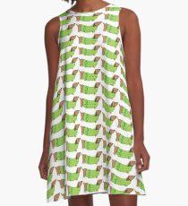 Weiner dog A-Line Dress