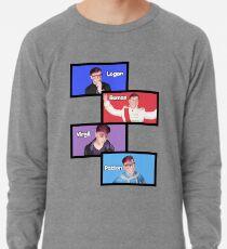 Sanders Sides Slides - Logan, Roman, Virgil, & Patton Lightweight Sweatshirt