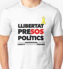 LLIBERTAT PRISONERS POLITICS (NEGRE) Unisex T-Shirt