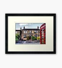 The Woolpack - Emmerdale Farm Country II Framed Print