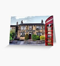 The Woolpack - Emmerdale Farm Country II Greeting Card