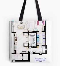 Carrie Bradshaw apt. (Sex and the City movies) Tote Bag