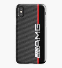 mercedes benz amg logo carbon iPhone Case/Skin