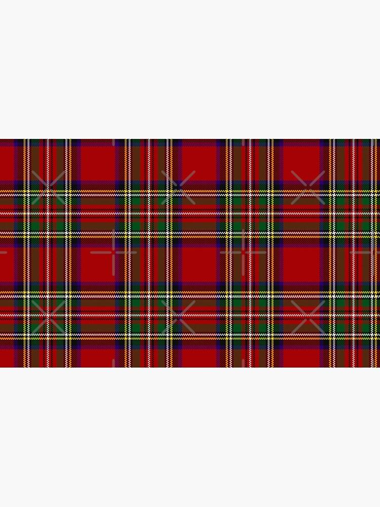 Red Tartan, Stewart Clan by PixDezines