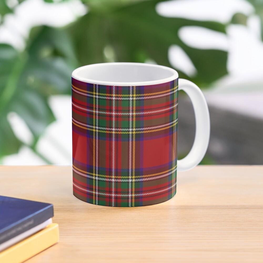 Red Tartan, Stewart Clan Mug