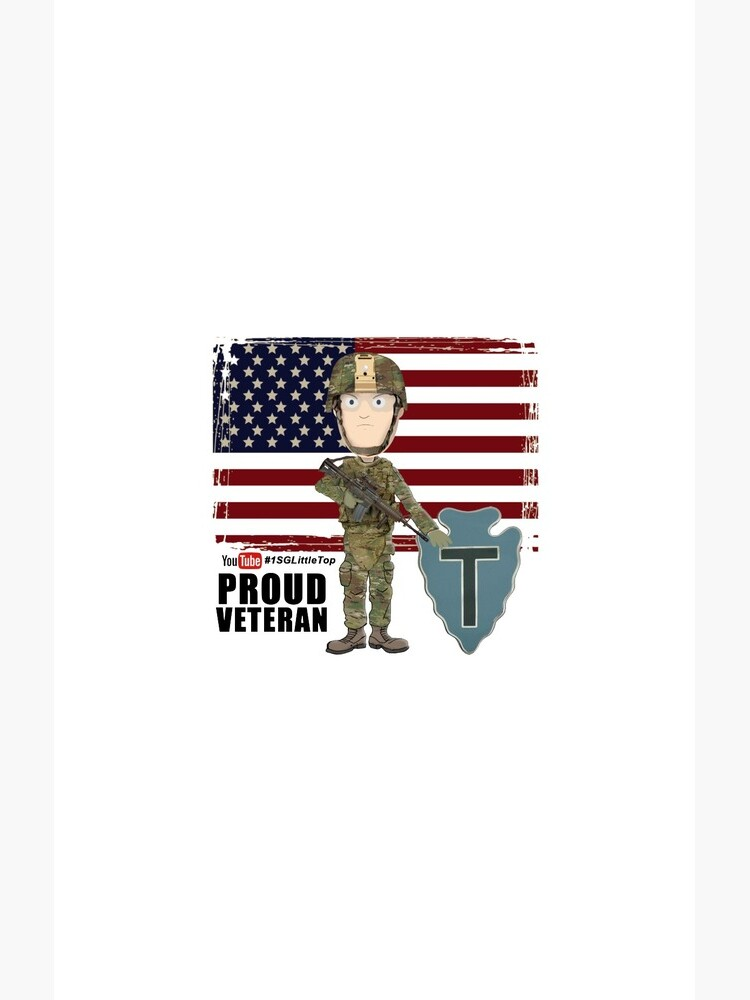 Proud Veteran- 36th ID by FatCrayon
