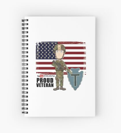 Proud Veteran- 36th ID Spiral Notebook