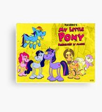 My Little Pony 1930 Canvas Print