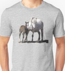 Welsh Pony mare and foal T-Shirt