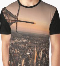 flying in new york city Graphic T-Shirt