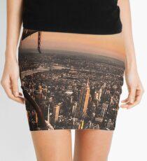 flying in new york city Mini Skirt